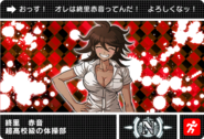 Danganronpa V3 Bonus Mode Card Akane Owari N JPN