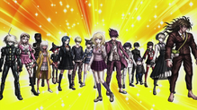 Danganronpa V3 CG - Pre-Game Students in their talent outfits (Vita) (1)