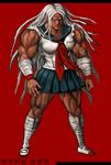 Danganronpa 1 Fullbody Profile Sakura Ogami