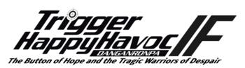 Danganronpa Trigger Happy Havoc IF English Logo