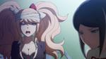 Despair Arc Episode 6 - Junko insulting Mukuro for her distrust to Izuru