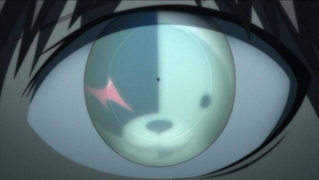 File:Monokuma in Makotos eye.jpg
