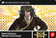Danganronpa V3 Bonus Mode Card Gonta Gokuhara S ENG