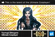 Danganronpa V3 Bonus Mode Card Tsumugi Shirogane S ENG