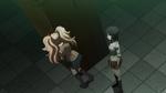 Despair Arc Episode 11 - Mukuro asks if Junko plans to kill Makoto