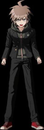Danganronpa 1 Makoto Naegi Sprite (PSP) 08