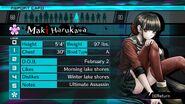 Maki Harukawa Report Card Page 0 (For Shuichi)