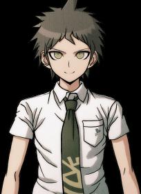File:Danganronpa 2 Hajime Hinata Halfbody Sprite (PSP) (18).png