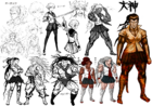 Sakura Ogami Beta Designs 1.2 Reload Artbook