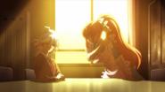 Chisa slaps Nagito