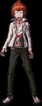 Danganronpa 1 Leon Kuwata Fullbody Sprite (PSP) (9)