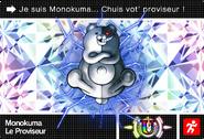 Danganronpa V3 Bonus Mode Card Monokuma U FR