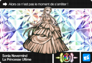 Danganronpa V3 Bonus Mode Card Sonia Nevermind U FR
