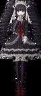 Danganronpa 1 Celestia Ludenberg Fullbody Sprite (PSP) (3)