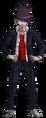 Danganronpa V3 Kaito Momota Fullbody Sprite (High School Uniform) (4)