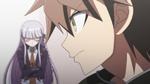 Danganronpa the Animation (Episode 02) - Makoto as the prime suspect (16)