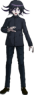 Danganronpa V3 Kokichi Oma Fullbody Sprite (High School Uniform) (4)