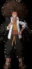 Danganronpa 1 Yasuhiro Hagakure Fullbody Sprite (PSP) (16)