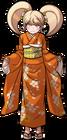 Danganronpa 2 Hiyoko Saionji Fullbody Sprite (PSP) (4)