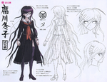 Danganronpa Another Episode Design Profile Toko Fukawa