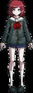 Danganronpa V3 Himiko Yumeno Fullbody Sprite (High School Uniform) (1)