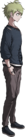 Danganronpa V3 Rantaro Amami Halfbody Sprite (Debate Scrum) (UNUSED)