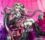 Digital MonoMono Machine Miu Iruma Android wallpaper