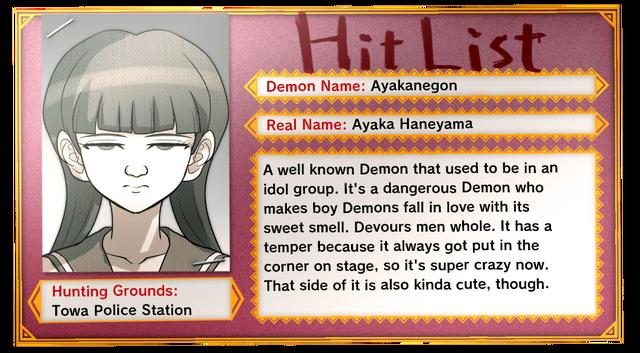 File:Hit List Ayaka Haneyama (EN).png