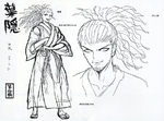 Danganronpa Another Episode - Scrapped Future Foundation Cameos - Yasuhiro Hagakure Beta