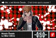Danganronpa V3 Bonus Mode Card Mondo Owada N FR