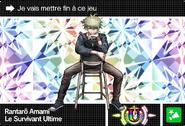 Danganronpa V3 Bonus Mode Card Rantaro Amami U FR