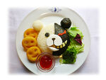 Cure Maid Danganronpa The Animation Food Monokuma