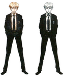 Byakuya Togami Beta Designs Visual Fanbook