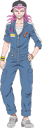 Danganronpa 3 - Fullbody Profile - Kazuichi Soda