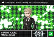 Danganronpa V3 Bonus Mode Card Fuyuhiko Kuzuryu N ENG