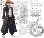 Danganronpa 1 Character Design Profile Mondo Owada