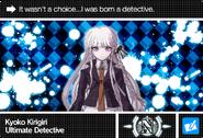 Danganronpa V3 Bonus Mode Card Kyoko Kirigiri N ENG