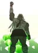 Sakura's statue in SDR