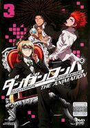 Byakuya, Yasuhiro and Leon DVD cover vol 3