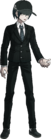 Danganronpa V3 Shuichi Saihara Fullbody Sprite (High School Uniform) (6)