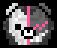 Monokuma Head Pixel Icon