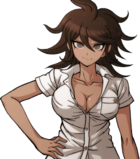Danganronpa 2 Akane Owari Halfbody Sprite (PSP) (10)