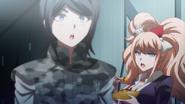 Despair Arc Episode 6 - Junko chastising Mukuro