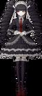 Danganronpa 1 Celestia Ludenberg Fullbody Sprite (PSP) (2)
