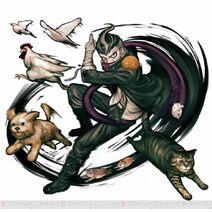 Danganronpa 2 Character Illustration - Gundham Tanaka