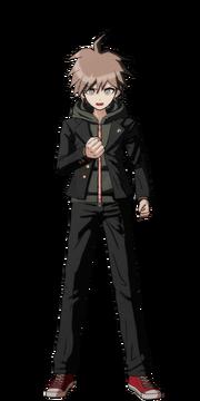 Makoto Naegi Fullbody Sprite 10