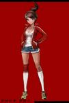 Danganronpa 1 Fullbody Profile Aoi Asahina