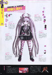 Danganronpa Another Episode Art Book Scan Kotoko Utsugi Looking & Fashion