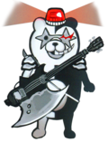 Danganronpa Another Episode Unused Siren Monokuma Design