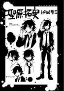 Danganronpa Killer Killer Takumi Hijirihara Character Sheet